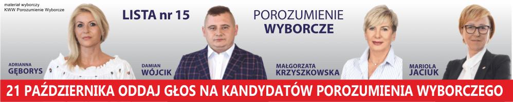 materiał wyborczy KWW Porozumienie Wyborcze